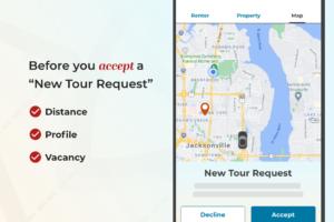 Before you accept a tour request checklist