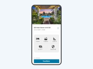 app screen property detail renter view